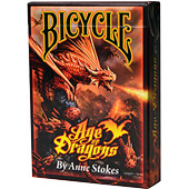 Фотография Карты Bicycle Anne Stokes Age of Dragons [=city]