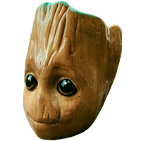 Фотография 3D кружка Guardians of the Galaxy (Baby Groot) 3D Sculpted [=city]
