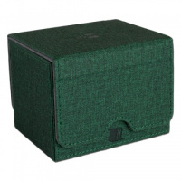 Фотография Blackfire Convertible Premium Deck Box Single Horizontal 100+ Standard Size Cards - Green [=city]