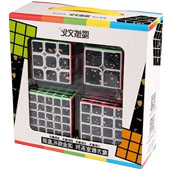 Фотография MoYu 2x2x2-5x5x5 Cubing Classroom Splash Gold SET [=city]